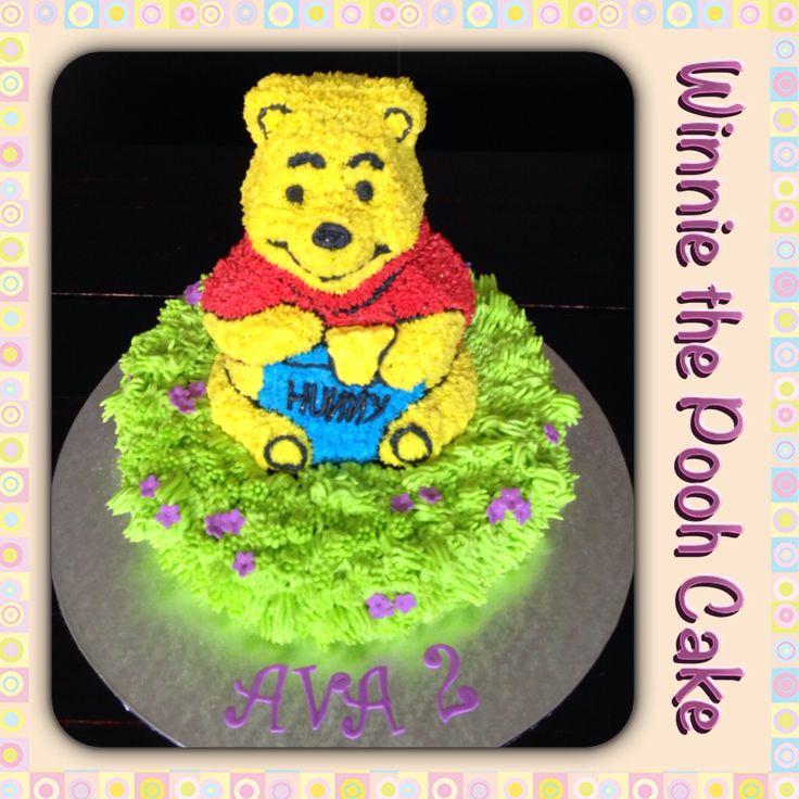 Winnie the Pooh 3D Cake