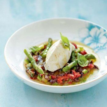 Salade arlésienne aux asperges vertes