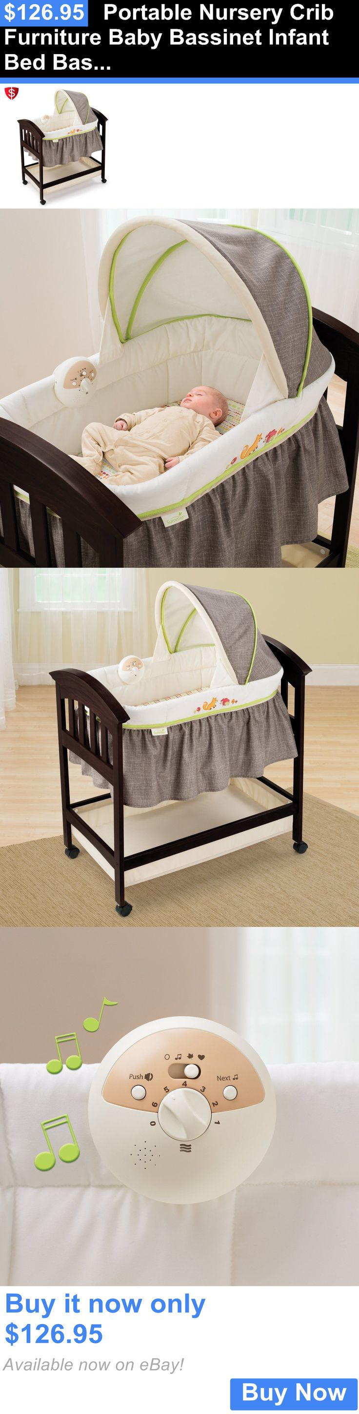 Special enclosed crib for premature babies - Baby Nursery Portable Nursery Crib Furniture Baby Bassinet Infant Bed Basket Wood Cradle Buy It