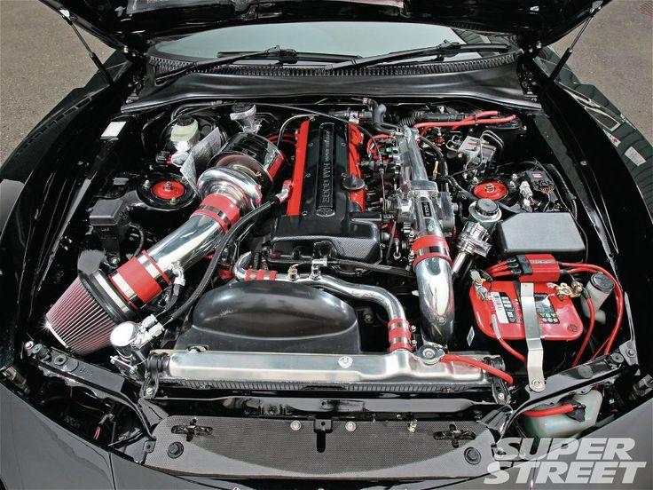 toyota supra jza80 2jz gte engine  redtop
