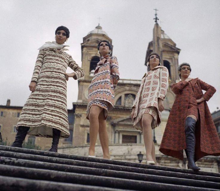 Women in Rome in the 1970s