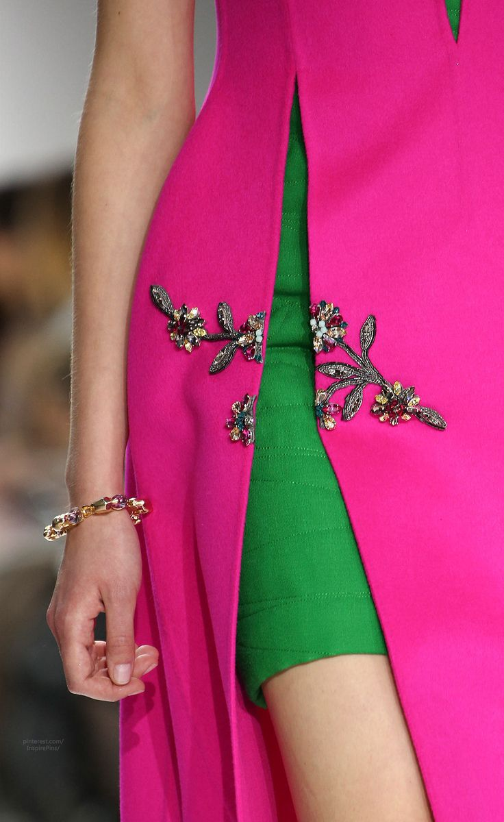 #fallintofashion14 & #mccallpatterncompany Fall 2014 Ready-to-Wear Christian Dior (details)