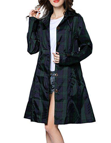 New Trending Outerwear: Womens RAIN MAC RAINCOAT FISHTAIL KAGOOL PARKA FESTIVAL JACKET COAT (L, Grid). Women's RAIN MAC RAINCOAT FISHTAIL KAGOOL PARKA FESTIVAL JACKET COAT (L, Grid)  Special Offer: $24.90  355 Reviews M(Grid):ClothLength:33.5In,Chest Circumference:40.1In,Outside Sleeve:23.6,Shoulder:16.5In, L(Grid):ClothLength:35.4In,Chest Circumference:43.3In,Outside...