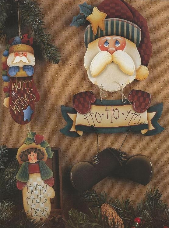 Gingerbread and Jinglebells Decorative Tole Painting Craft Book