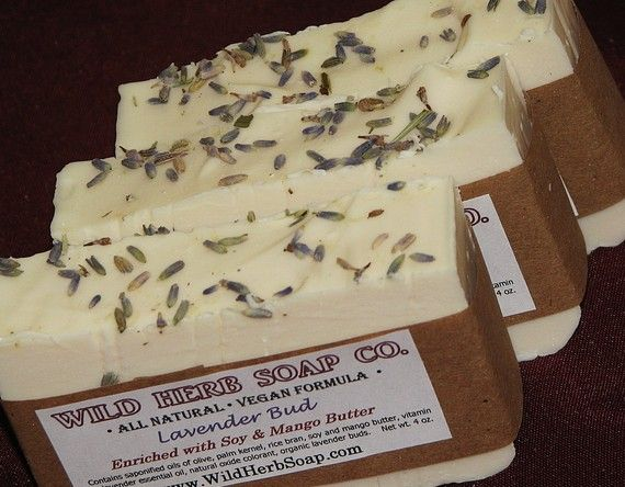 Lavender ALL NATURAL Soap  Made from Scratch Cold by WildHerb, $4.00  I have used nearly every scent of soap from The Wild Herb CO . and this so far has become my favorite.  I have yet to find a soap that I like more.  Give it a try and you won't go back to what ever you were using before.