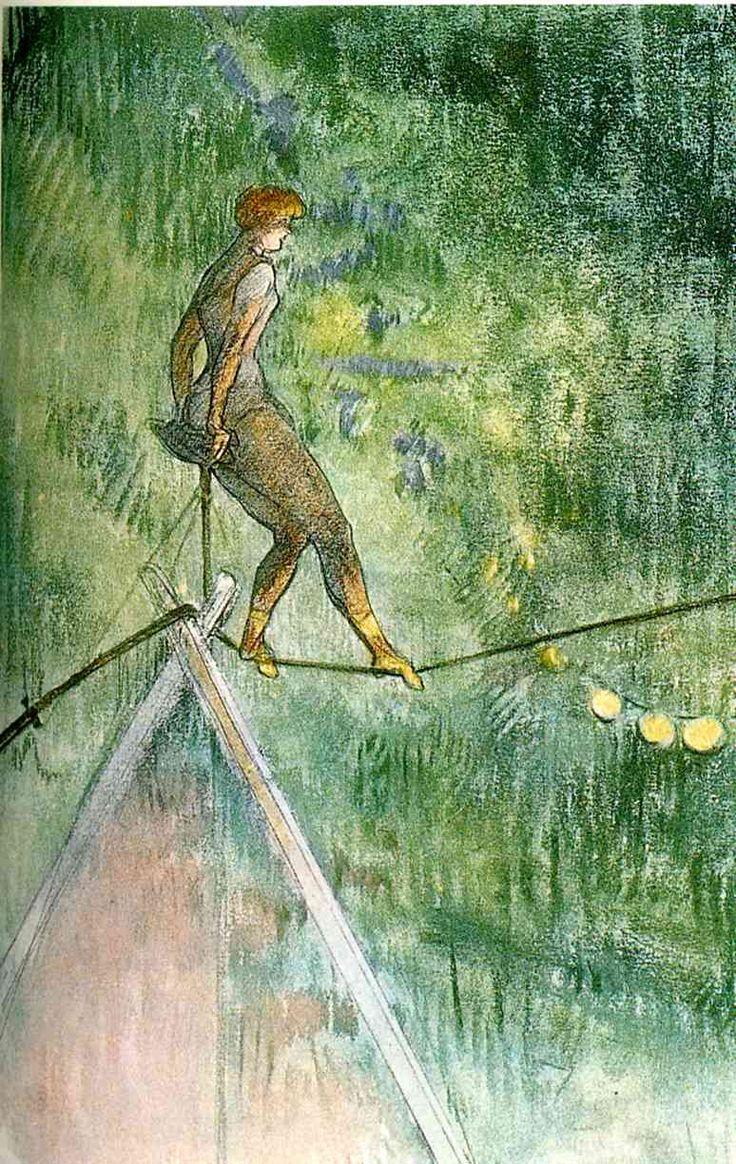 High Wire Acrobat, Henri de Toulouse-Lautrec