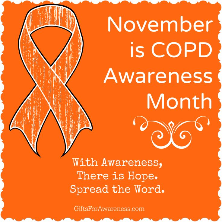 November is COPD Awareness Month. Spread the word to bring awareness for this important cause. Shop orange ribbon shirts for COPD Awareness at www.giftsforawareness.com #COPD #COPDawareness #COPDawarenessmonth