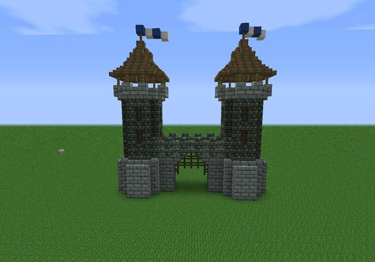 Medieval gate house