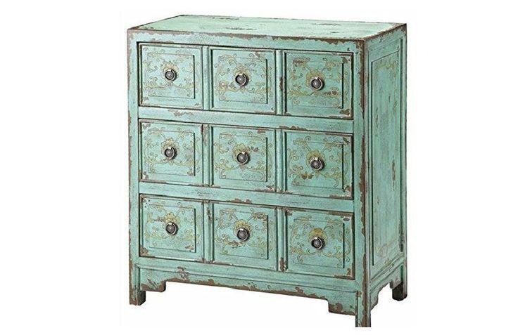 Chest of Drawers Bedding Furniture Bedroom Dresser Storage Cabinet Vintage Wood #Unbranded #VintageRetro