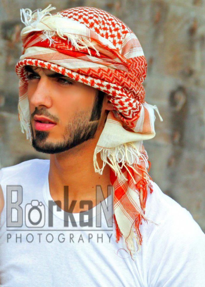 Omar Borkan Al Gala - He got kicked out of Saudi Arabia for being too handsome.