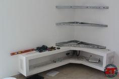 Fabriquer un meuble TV en placo