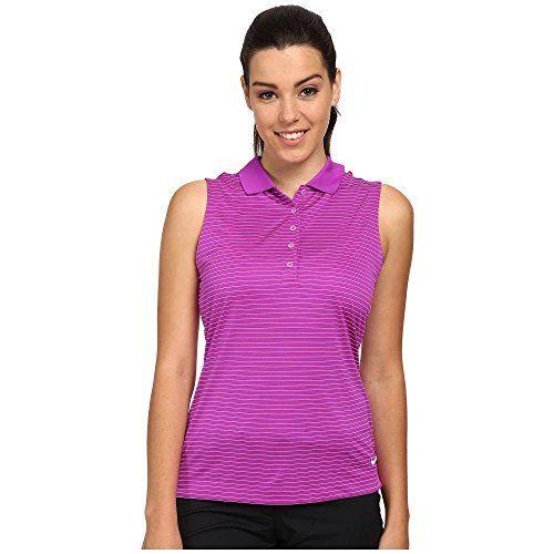 (ナイキ) Nike Golf レディース トップス ポロシャツ Tech Sleeveless Stripe Polo 並行輸入品  新品【取り寄せ商品のため、お届けまでに2週間前後かかります。】 表示サイズ表はすべて【参考サイズ】です。ご不明点はお問合せ下さい。 カラー:Vivid Purple/White 詳細は http://brand-tsuhan.com/product/%e3%83%8a%e3%82%a4%e3%82%ad-nike-golf-%e3%83%ac%e3%83%87%e3%82%a3%e3%83%bc%e3%82%b9-%e3%83%88%e3%83%83%e3%83%97%e3%82%b9-%e3%83%9d%e3%83%ad%e3%82%b7%e3%83%a3%e3%83%84-tech-sleeveless-stripe-polo/