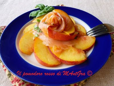 Il Pomodoro Rosso di MAntGra: Torretta di pesca e salmone