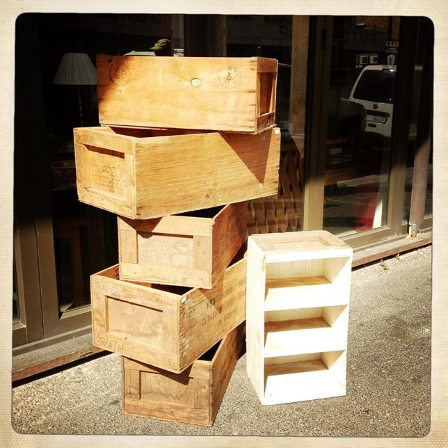 Love these old crates
