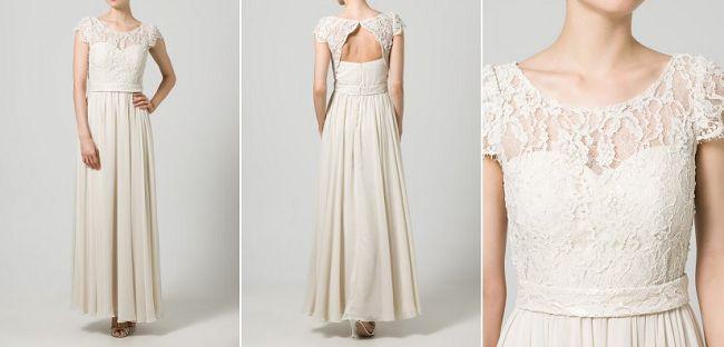 Trouwjurk van Unique voor 280 euro // Goedkope trouwjurken - Girls of honour