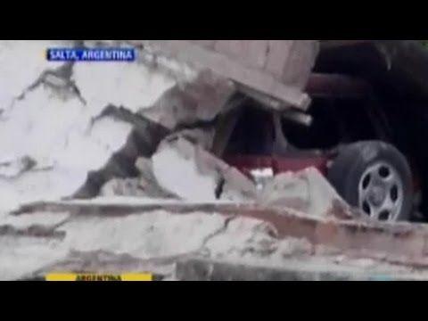 Fuerte Temblor Sismo en Salta Argentina, 5.9 grados (VIDEO) - http://www.nopasc.org/fuerte-temblor-sismo-en-salta-argentina-5-9-grados-video/