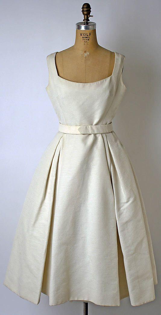 Dior dinner dress 1957  Vintage  Pinterest  Haus, Christian Dior ...