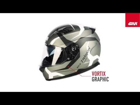 2017 GIVI HPS 50 5 Tridion Vortix Motorcycle Helmet Promotional Video