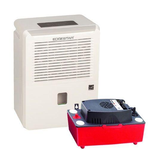EdgeStar 30 Pint Portable Dehumidifier Basement Kit