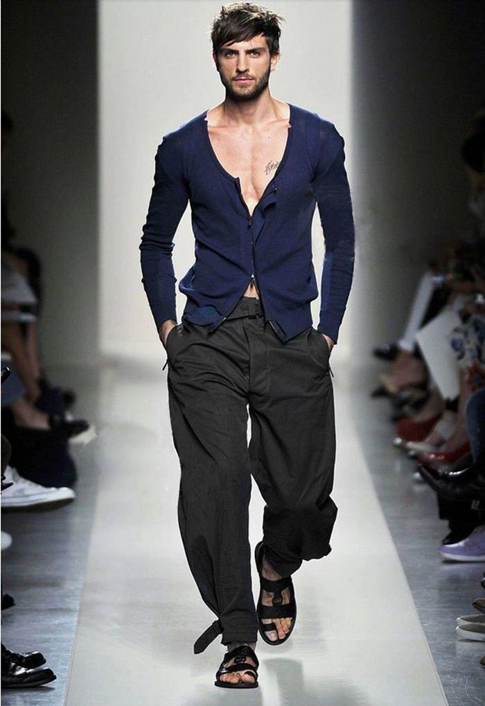 Hot sprzedaży!! nowa moda harem spodnie męskie spodnie szerokie luźne spodnie na co dzień ice silk biegacze sweat pants w Hot-sprzedaży!! nowa moda harem spodnie męskie spodnie szerokie luźne spodnie na co dzień ice silk biegacze sweat pants od Harem Pants na Aliexpress.com | Grupa Alibaba