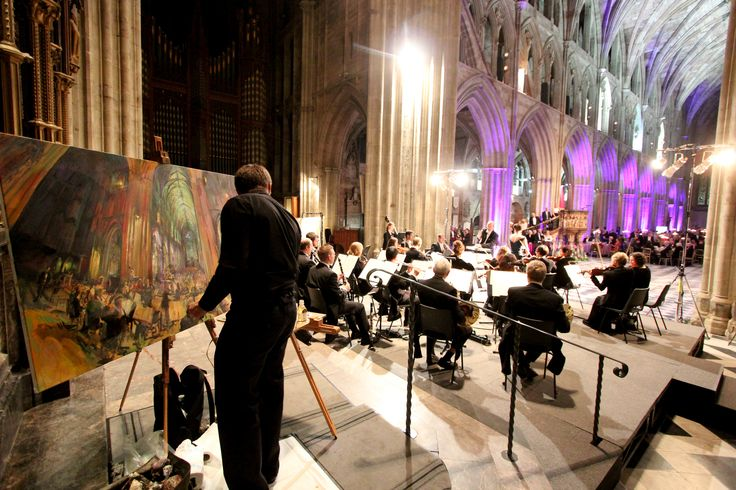 Choir, Worcester Cathedral by Rob Pointon