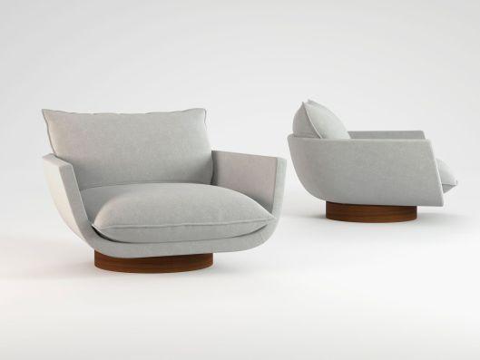 Las 25 mejores ideas sobre sillones individuales en - Sillones giratorios modernos ...