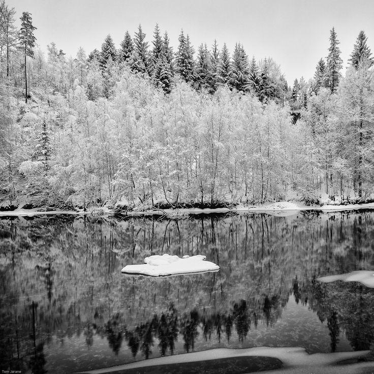 Snow island by Tom Jarane on 500px