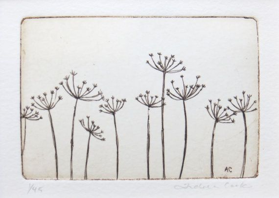 Hey, I found this really awesome Etsy listing at https://www.etsy.com/listing/168154239/original-etching-of-meadow-cow-parsley