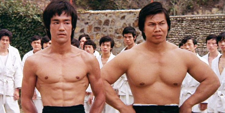 Bruce Lee & Bolo Yeung