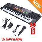 2017 54 Keys Music Electronic Keyboard Kid Electric Piano Organ W/Mic