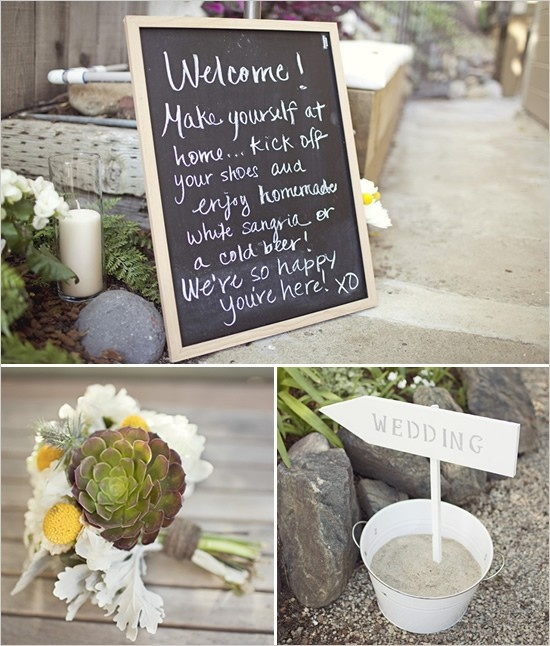 welcome board wedding inspiration pinterest