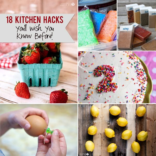 Amazing kitchen hacks you'll wish you knew before!!