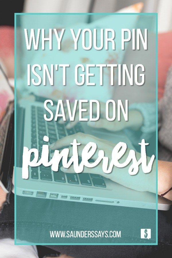 Wondering why your pin isn't getting saved on Pinterest? Are you using alt texts instead of pin descriptions? Check out my blog post for help with pin descriptions vs. alt text. #wptasty #tastypins #saunderssays #pinterest #pindescriptions