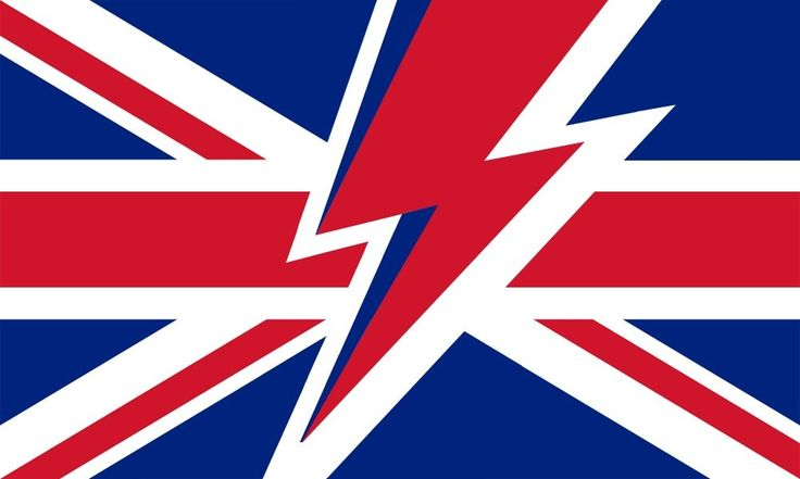 The Flag of Bowie, to be flown proudly at half mast today : vexillology