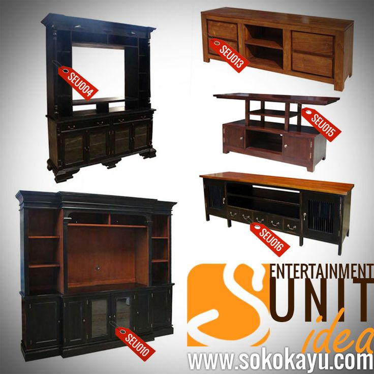 #Handmade #MahoganyFurniture #idea of #EntertainmentUnit #furniture for your #Livingroom
