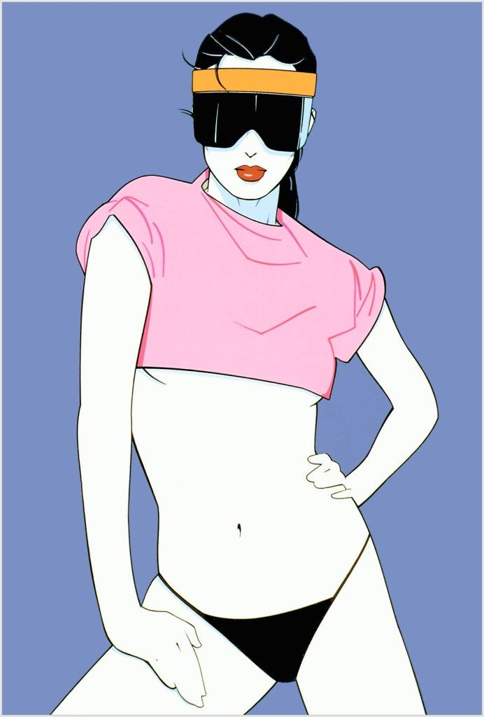91 Best Images About Patrick Nagel On Pinterest Artworks
