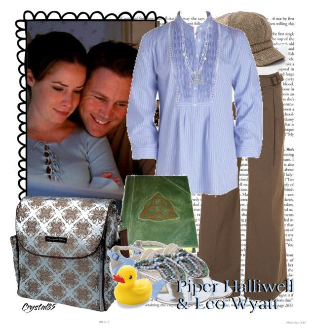 Famous Couples: Piper Halliwell & Leo Wyatt by crystal85 on Polyvore featuring мода, Paul & Joe Sister, 1928, Gap and Alberta Ferretti
