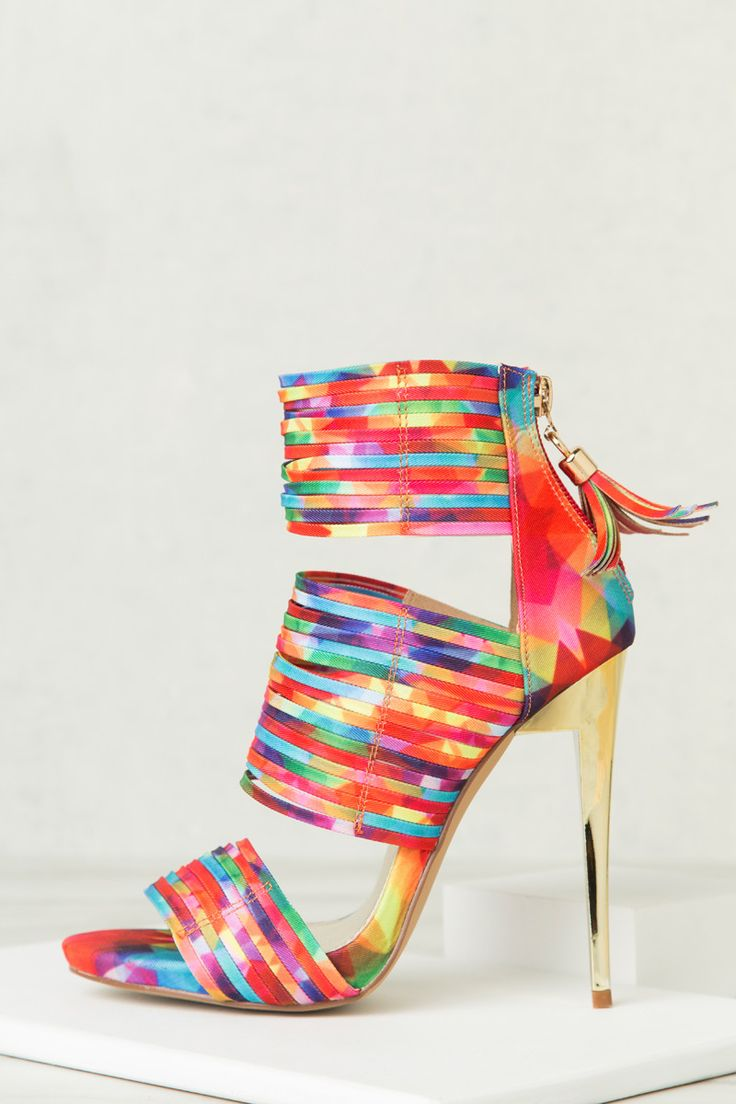 Rainbow Dreams Heel- PRE-ORDER SHIP DATE 6/23