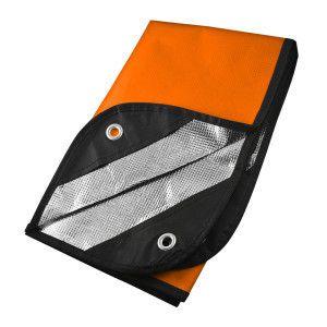 UST - Ultimate Survival Technologies - Survival Blanket 2.0, Orange/Reflective