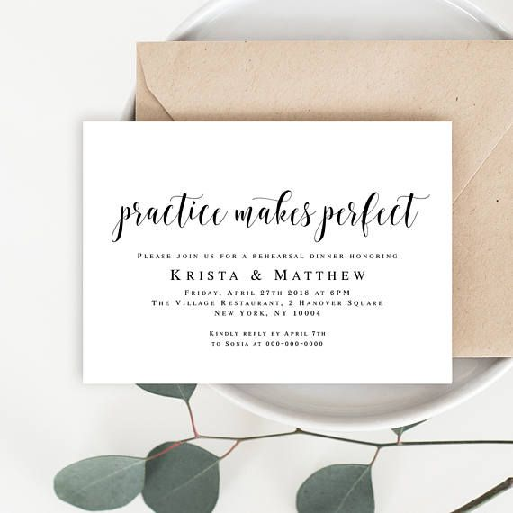57 best Wedding Templates images on Pinterest Wedding templates - dinner invitation template