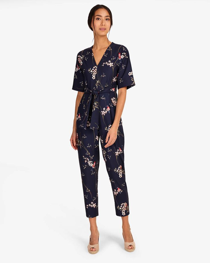 phase eight occasion wear flora jumpsuit blue wedding guest outfit inspiration affiliate