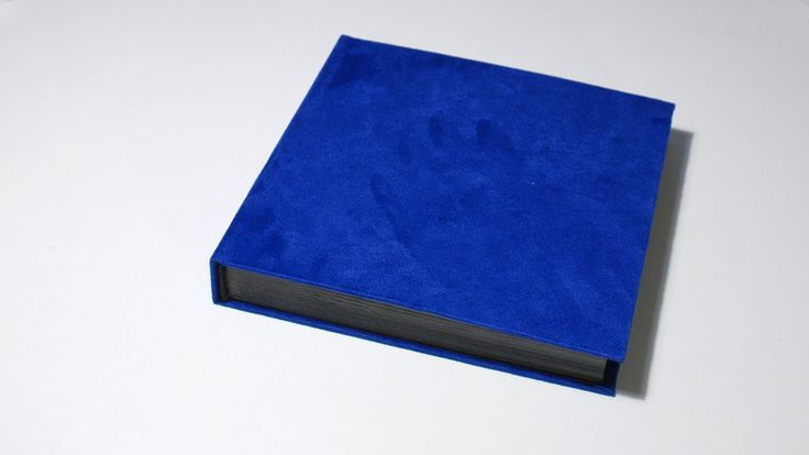 Albums – Square suede photoalbum 9,8x9,8in, 70 pages – a unique product by Kajet on DaWanda