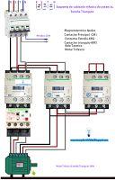 Esquemas eléctricos: Esquema  cableado trifásico de potencia estrella t...