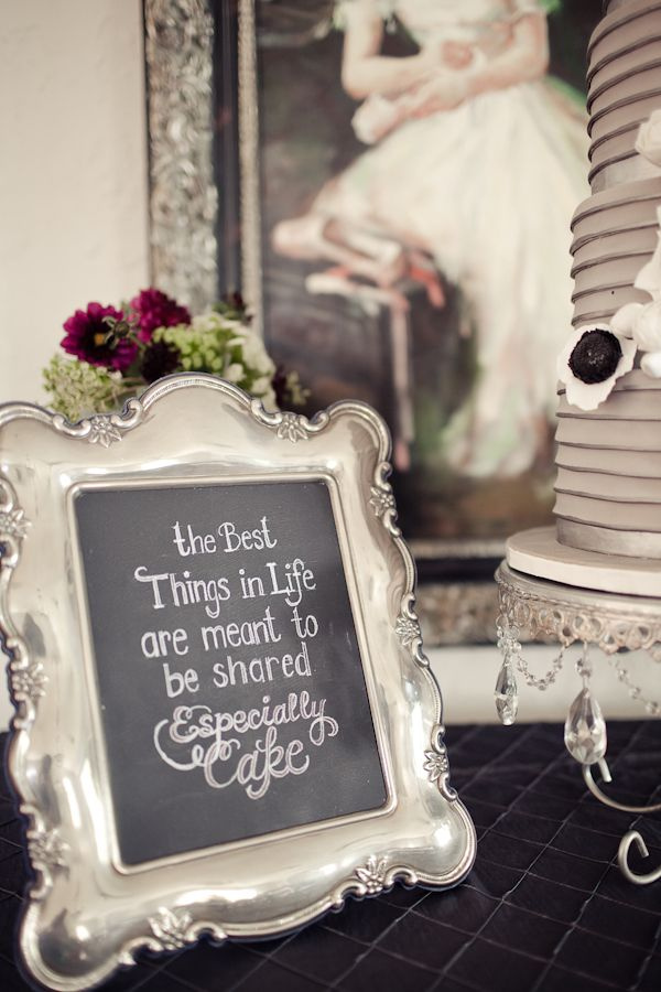 Best 25 cake table decorations ideas on pinterest wedding cake custom chalkboard wedding ideas junglespirit Choice Image