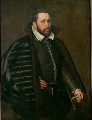 A Man in Spanish Costume, 1568 (Adriaen Thomas Key) (1544-1589)    Kunsthistorisches Museum, Wien GG_1034