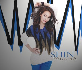 My creation of: Shin Min ah