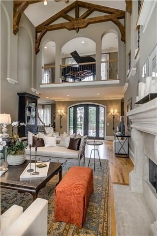awesome ... exactly where i would put my piano so every room in the house would be filled with music!