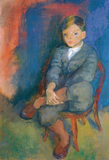 szonyi_istvan-peter_ PÉTER, 1935  Tempera, vászon, 100x72 cm (368×540)