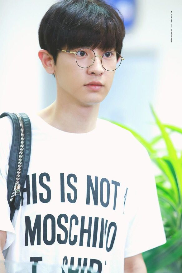 Chanyeol | 150704 Gimpo Airport departing for Tokyo
