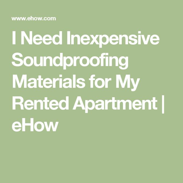 The 25+ best Soundproofing material ideas on Pinterest | Studio ...